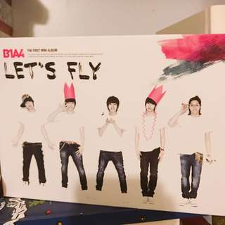 B1A4出道首張專輯Let's Fly連寫真42p