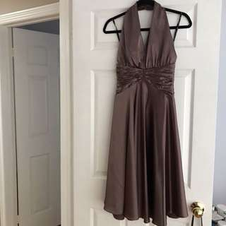 Halter formal dress size small