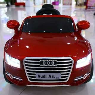 Audi Metallic A8l Ride On Toy Car for Kids