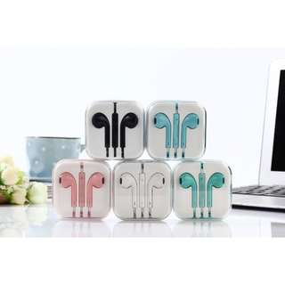 Fashion Earphone for ios and android 💞