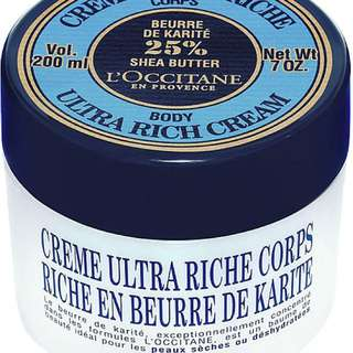 BN LOCCITANE ULTRA RICH BODY CREAM