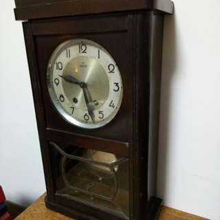 Wehrle famous wall winding clock