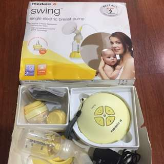 Like New - Medela Swing Single Breast Pump