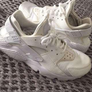 Nike Hauraches WHITE