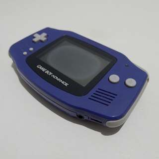 Nintendo Gameboy Advance (AGB-001) Indigo Blue