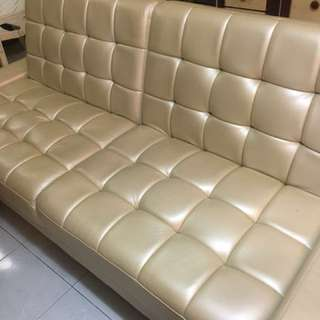 Sofas & bed (Free delivery)