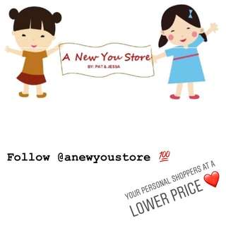 Follow @anewyoustore in Instagram