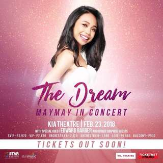 The Dream Maymay in Concert
