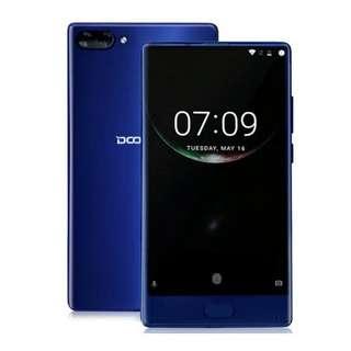Doogee Mix 6/64 GB Blue Bezel Less Ready Spek Dewa
