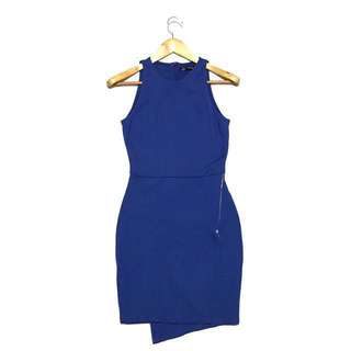 ZARA Blue Bodycon Dress