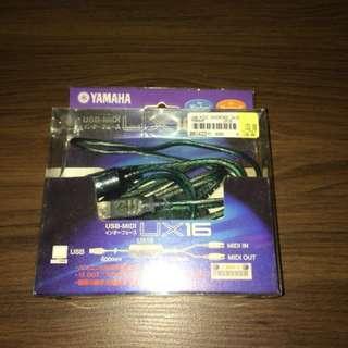 New Yamaha USB-Midi