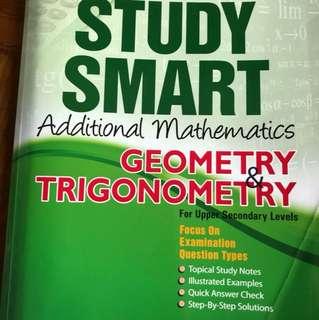 Study Smart additional Maths geometry & trigonometry