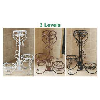 Metal Plant Shelf / Plant Stand - 3/4 levels