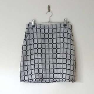 Kookai Checked Skirt