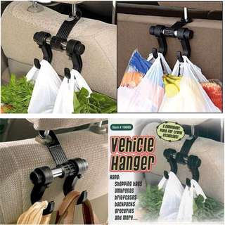 🏎Double Car Hanger Hook Car Back Seat Storage🏎