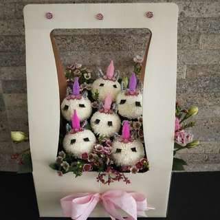 Unicorn Flower Box