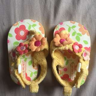Carter's flowery sandals