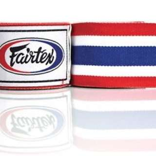 Fairtex Handwraps - Thailand Flag 100% Authentic