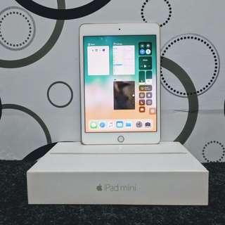 iPad mini 4 WiFi 128gb gold Fullset eX Resmi iBoX