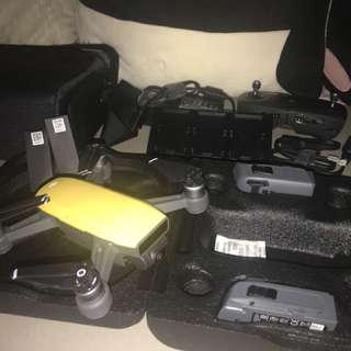 DJI Spark Fly More Combo plus one Spare battery