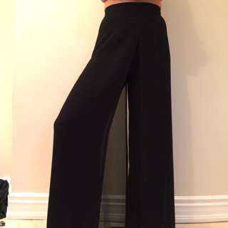 Panelled Flow Dress Pants