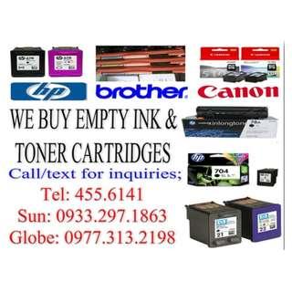 BUYER OF EMPTY INK AND TONER CARTRIDGES