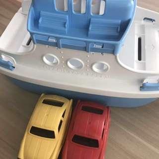 Green Toys Car Ferry