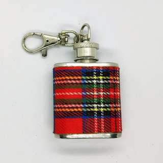 Scottish Whiskey Flask keychain