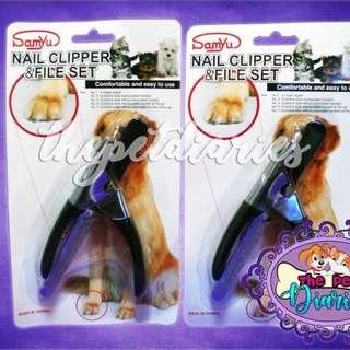 Pet Nail Clipper & File Set