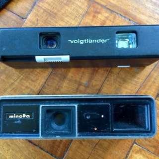Vintage Spy 110 film camera