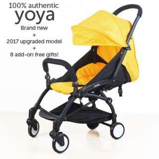 100% Authentic YOYA Baby Stroller *Brand New*