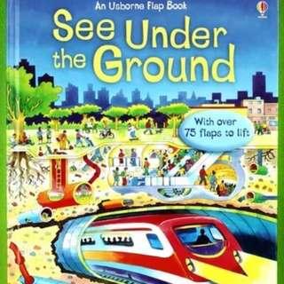 🚚 Usborne See Under the Ground