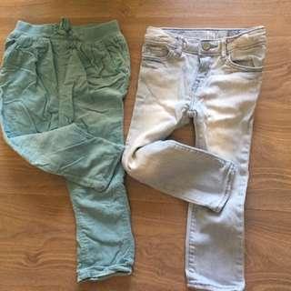 Preloved toddler's clothing 2-3T