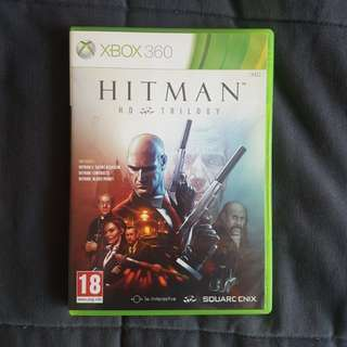 Xbox 360 Hitman Trilogy on 2 discs