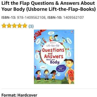 🚚 Usborne Lift-the-Flap Questions & Answers About Your Body