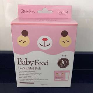 Baby Food Pre-Sterilized Pack