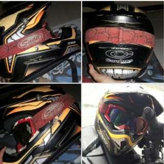 Helm cargloss moto cross