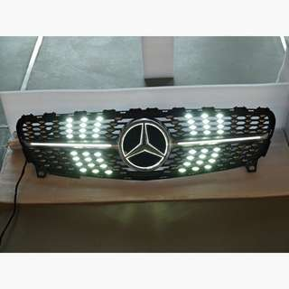 Latest Design!! Mercedes Benz LED Diamond Grille for W176(Facelift model 2015-2017), GLA-Class X156, W205, W213 and GLC-Class X253