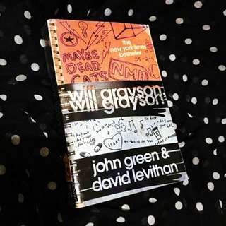 Will Grayson by John Greene and David Levithan