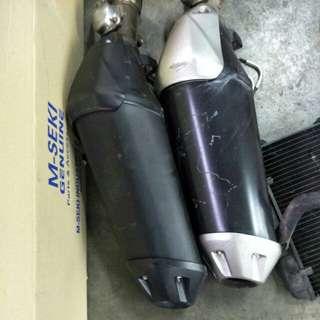 Fz1 exhaust $60 each