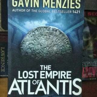 Gavin Menzies Book, The Lost Empire of Atlantis