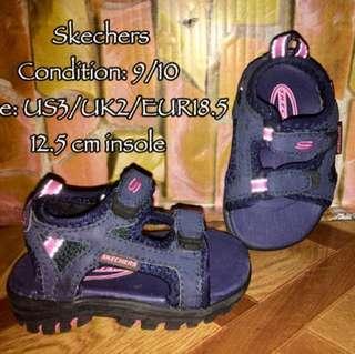 Orig Skechers Baby Sandals / Slippers
