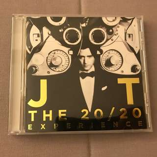 CD Audio - Justin Timberlake, The 20/20 Experience