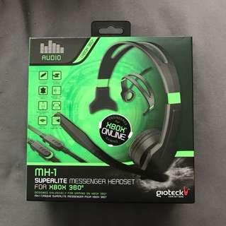 Giotek Gaming Headset for Xbox 360