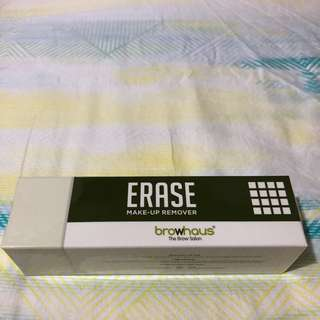 Erase make up remover