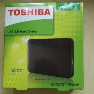 Unbox Toshiba Harddisk 1T