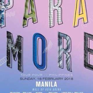 PARAMORE TOUR (LOWER BOX B) FOR SALE