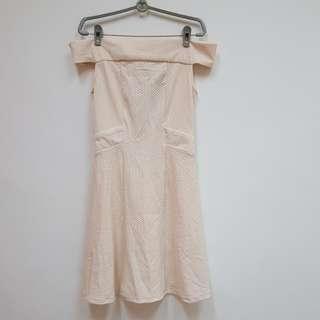 Off Shoulder Flare Dress  (BNWT)