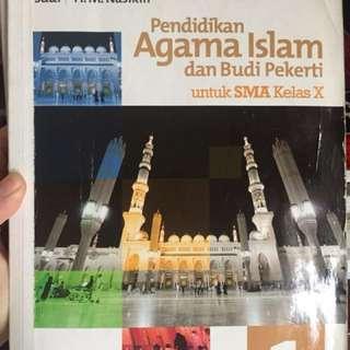 PENDIDIKAN AGAMA ISLAM dan BUDI PEKERTI ERLANGGA KELAS X SMA