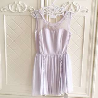 Snidel (JAPAN BRAND) Soft Purpe Party Dress